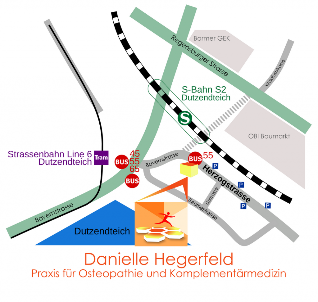 Hegerfeld-Anfahrt